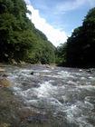 阿仁川上流の渓谷