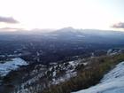 天峰山から望む岩手山